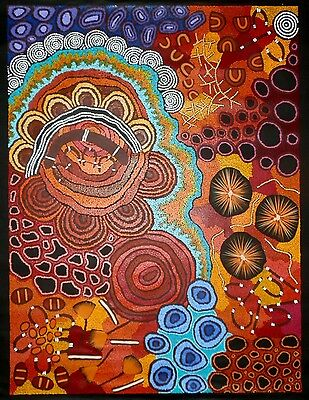 Damien and Yilpi Marks. Authentic Aboriginal art. Incl 27 working pics