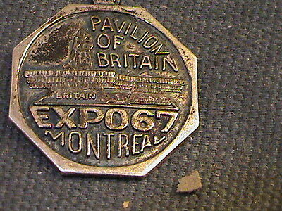 sterling charm:  pavilion of Britain, EXPO 67 Montreal. Canada