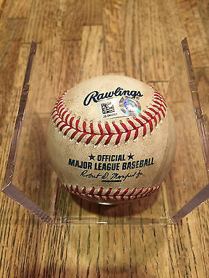 Jose Bautista Game-Used HOME RUN Baseball CAREER #301 Blue Jays - MLB AUTH