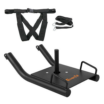 Fitness Power Sled Black