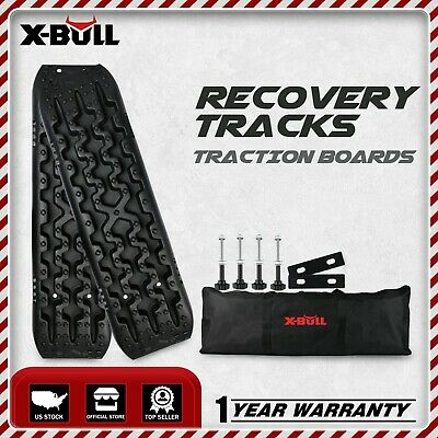 X-BULL Sand Tracks Recovery Traction 4WD Snow Track Tire Ladder Black Off Road