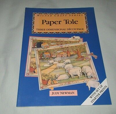 PAPER TOLE THREE DIMENSIONAL DECOUPAGE by JUDY NEWMAN