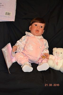 "Lee Middleton ""Sweet Baby Bear Girl"" in original box with COA"