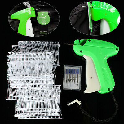 Clothes Garment Price Label Tagging Tag Gun + 1000 Barbs + 5 Needles New