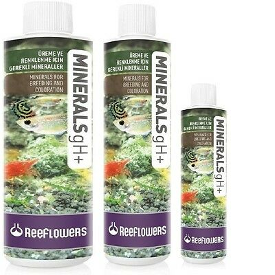 Minerals gH+ 1L, 500ml & 250ml Aquarium Treatment by ReeFlowers