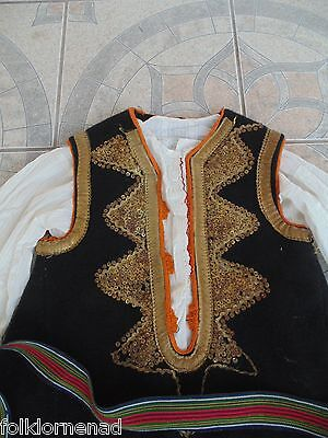 old folk costumes from Serbia