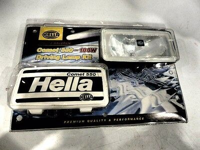 New and Sealed - Hella Comet 550 - 100w Driving Lamp Complete Kit - 5644/100