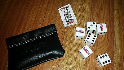 Beefeater London Promotional Dice Game Threes