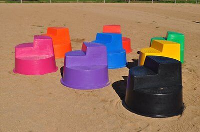 Mount Easy Horse Mounting Block / Step  Australian Made - Great Range of Colours