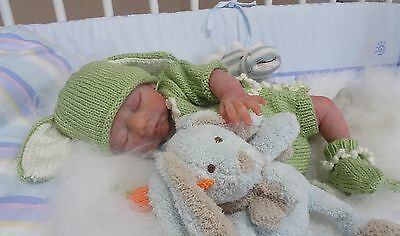 Freddie partial silicone from Iris sculpt by Sherry Bowden  reborn doll baby