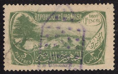 LIBAN REVENUE STAMP Collection