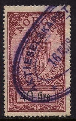 NORWAY  REVENUE STAMP Rare Collection