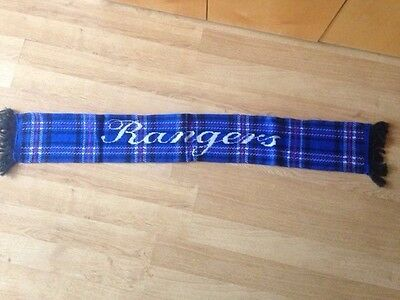Rangers football scarf, new