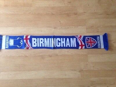 Birmingham football scarf, new
