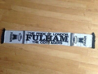 Fulham Football Scarf, new
