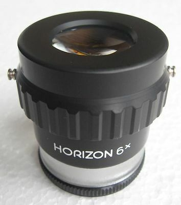 #591 Zenit / Horizon Standlupe Lupe 6X  Magnifier (ohne Skale / without scale )