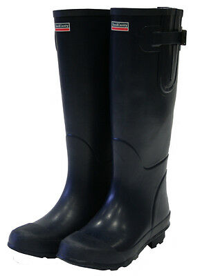 New Town & Country The Bosworth Navy Wellington Boots - Size 5