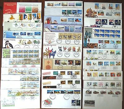 Bulk Lot of Australian Decimal First Day Covers  x 116  - Mixed + AAT Sets