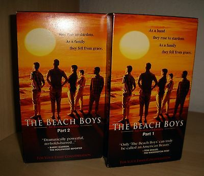 The Beach Boys - An American Family - 2 Part Vhs Tapes