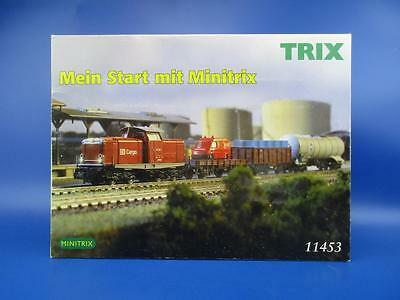 Trix 11453 Starter Set German Railroad Class 212, With Freight Cars And Tank Car