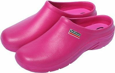 New Town & Country Raspberry Eva Cloggies - Available in Sizes 5-8