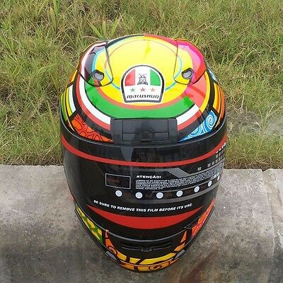 Valentino Rossi  Full Face Motorcycle Helmet New Free shipping