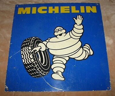 Vintage Retro Michelin Tyre Sign