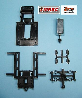 MRRC CHASIS UNIVERSAL REGULABLE 70/94mm + MOTOR SCALEXTRIC 18000 RPM - 1:32