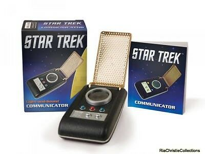 Star Trek Light-and-Sound Communicator Chip Carter Mixed media product New Book