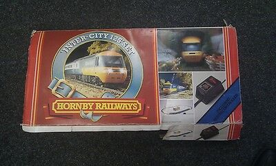 Hornby OO Gauge Intercity 125 - 4 Cars Train Set R541 Boxed + Extra Tracks