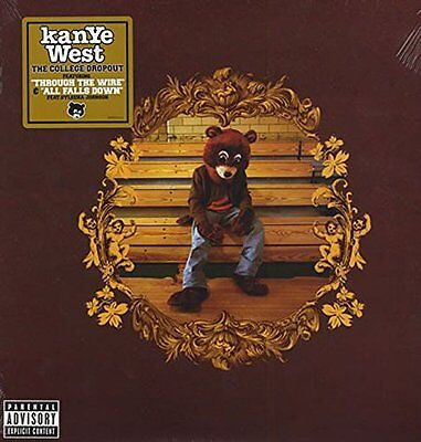 Kanye West College Dropout,Jay-Z,Talib Kweli,Common,Syleena  Vinyl Album SEALED