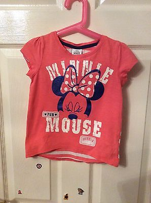 Girls Minnie Mouse T-shirt 4 -5 Years