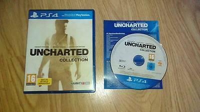 jeu ps4 UNCHARTED COLLECTION  1-2-3