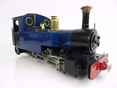 Roundhouse Live Steam 16Mm Remote Controlled 0-6-0 'silver Lady' In Blue With Rc