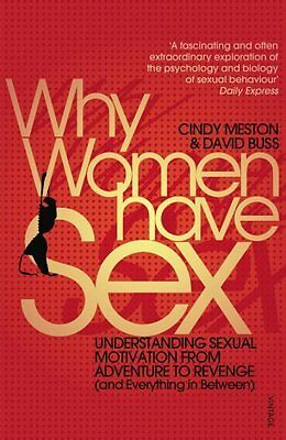 Why Women Have Sex by Cindy M. Meston New Paperback Book