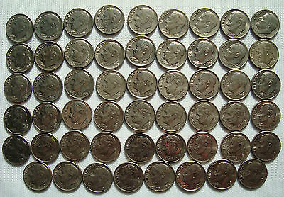Roosevelt Dimes 10 Cents USA Coins United States of America US