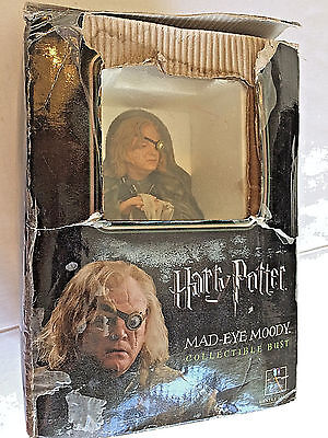Harry Potter MAD EYE MOODY mini bust/statue Gentle Giant with Certificate 0782