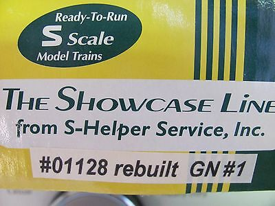 S-Helper Steel Rebuilt Box Car #01128 G.N.#1