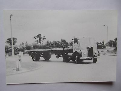 Postcard Of Guy Otter Flatbed - Coventry - British Road Services