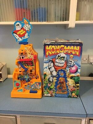 Tomy Kongman Game Rare Vintage 1980's Boxed Electronic Game Excellent Condition