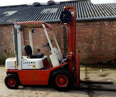 Nissan/Datsun 2 tons Lift Capacity Forklift