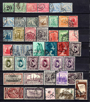 Egypt Selection Of Used Stamps