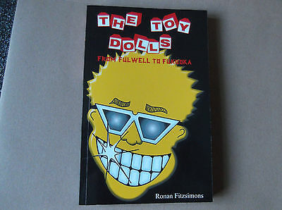 TOY DOLLS from fulwell to fukuoka RARE PUNK BOOK collectable