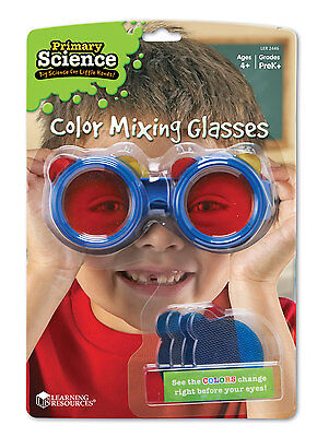 Learning Resources Primary Science Colour Mixing Glasses - NEW