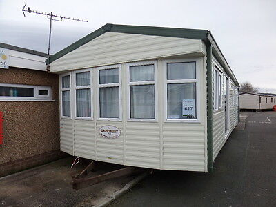 Willerby Daresbury Double Glazed and Central Heated Static Caravan North Wales