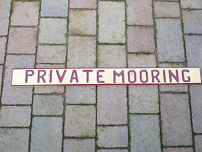 bargeware/canalware, hand crafted wooden signs