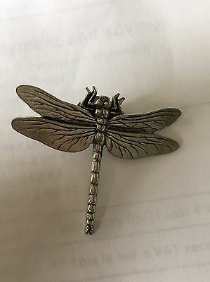 A.R.Brown Pewter Dragon Fly Brooch