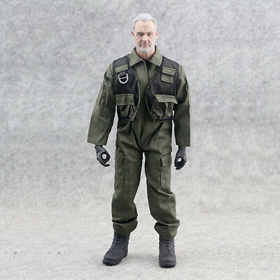 1/6 Scale Action Figure Clothing Military Coverall Uniform