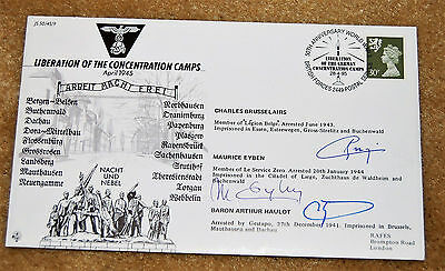 Fdc Liberation Of The Concentration Camps. No 365 Of 560. Signed