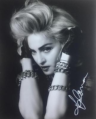 Madonna (Music) Authentic Hand Signed 10x8 Photograph COA